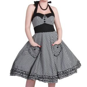 Hell Bunny Dresses - Hell Bunny Vixen Gingham Dress-M